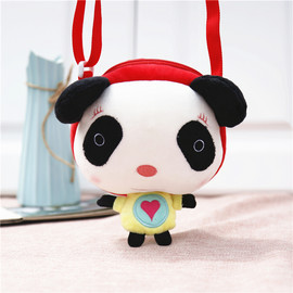 Panda Bags for Girls, Cute Panda Purses, 3 Colors Kids Panda Crossbody Bag