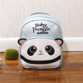 Kids Panda Backpack, 5 Colors PU Panda Bakcpacks for Kids, Cute Panda Backpack for Girls