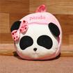 Kids Panda Backpack, Panda Plush Backpack for Kids, Cute Bow-knot Stuffed Panda Backpack for 1-5 Years Old Kids
