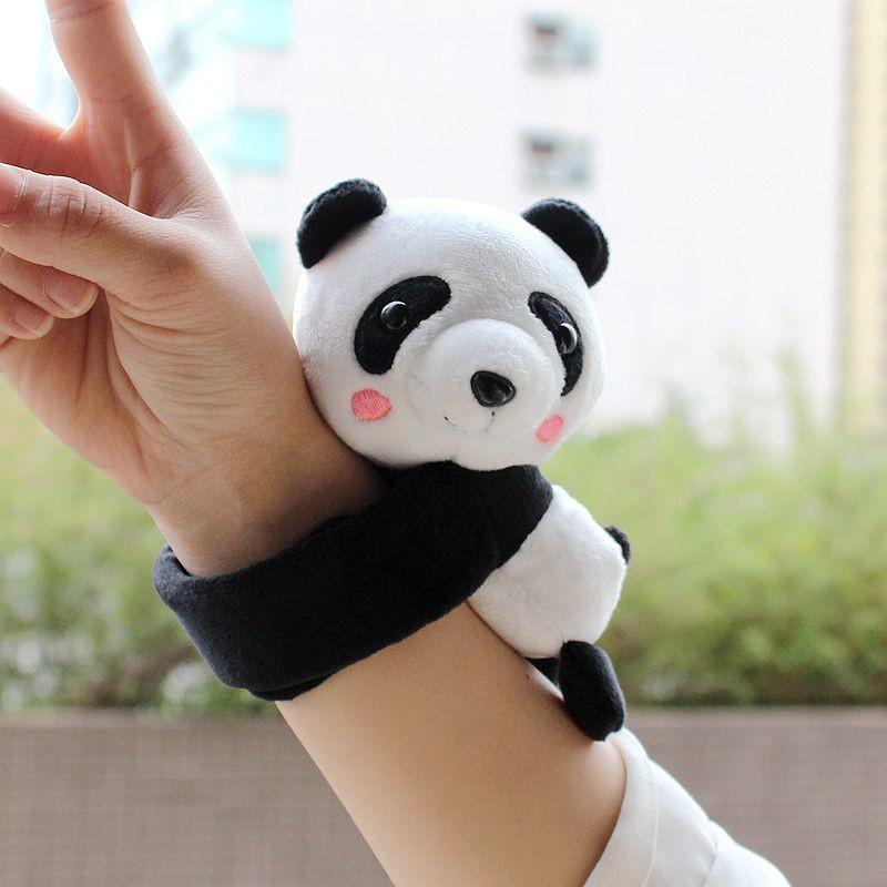 Best Stuffed Animals For Boy, Panda Stuffed Animal Slap Bracelets Cute Panda Plush Slap Bracelets