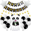 Panda Decorations For Birthday, Birthday Decorations with Panda Balloon