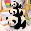 Stuffed Panda, Panda Stuff Toys in 7 Sizes, Super Cute Panda Stuffed Animal