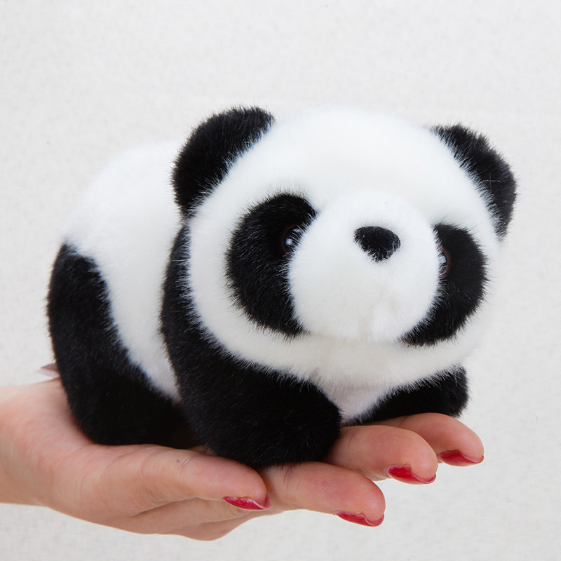 Cute Panda Plush, A family of Four Stuffed Panda Bear