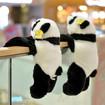 Panda Stuffed Animal, Lifelike Fluffy Long Hands Stuffed Panda Bear in 3 Sizes