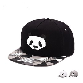 Panda Baseball Caps for Men Women Fashion panda baseball hats black