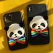 Panda iPhone Case, Handmade TPU Panda Case for iPhone 12/11/X/Xs Max