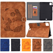 Leather Panda iPad Case, Magnetic Panda iPad Leather Folio