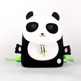 Panda Backpack for Kids, Waterproof Backpacks for toddler, Neoprene Cute Panda Bookbags for 1-6 years old kids
