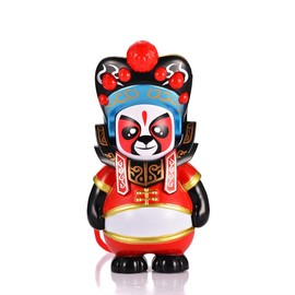 Traditional Chinese Opera Panda Face Changing Doll Panda Toys, Magical Panda Face Change in Sichuan Opera Panda Finger Toys