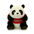Stuffed Panda Bear, Red Sweater Plush Panda Toys, Super Cute Panda Stuffed Animals