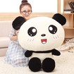 Big Head Panda Teddy Bear, Creative Cartoon Panda Soft Toy, Giant Panda Stuffed Animal